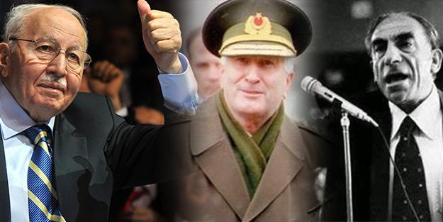 'Türkeş Erbakan'ın yanına gelip, Çevik Bir'i uçaktan...'