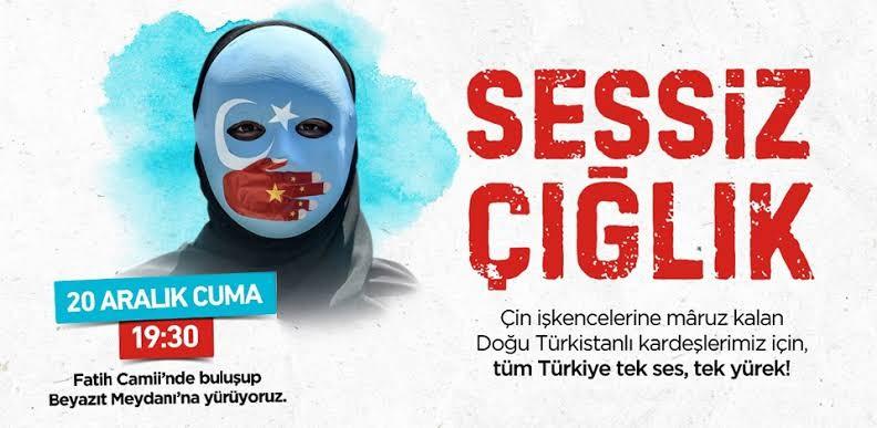 Türkiye 19:30'da tek ses, tek yürek olacak! Doğu Türkistanlılardan Türkiye'ye çağrı