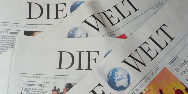Türkiye, Alman Welt gazetesine dert oldu!