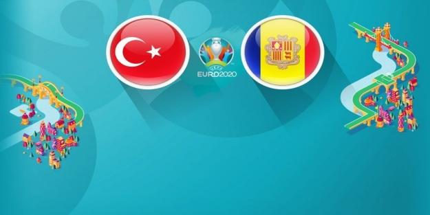 Türkiye Andorra maçında ilk 11 kim? Euro 2020 Türkiye Andorra maçı saat kaçta başlayacak?