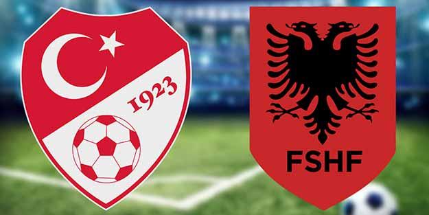 Türkiye-Arnavutluk maçında ilk 11'ler belli oldu