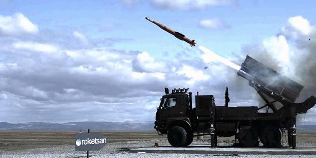Türkiye balistik füze denemesi yaptı!