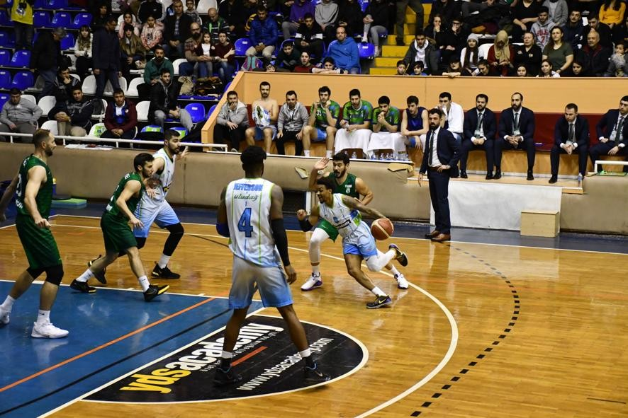 Türkiye Basketbol ligi: Balıkesir Büyükşehir Belediyespor: 59 - Bornova Belediyespor: 74
