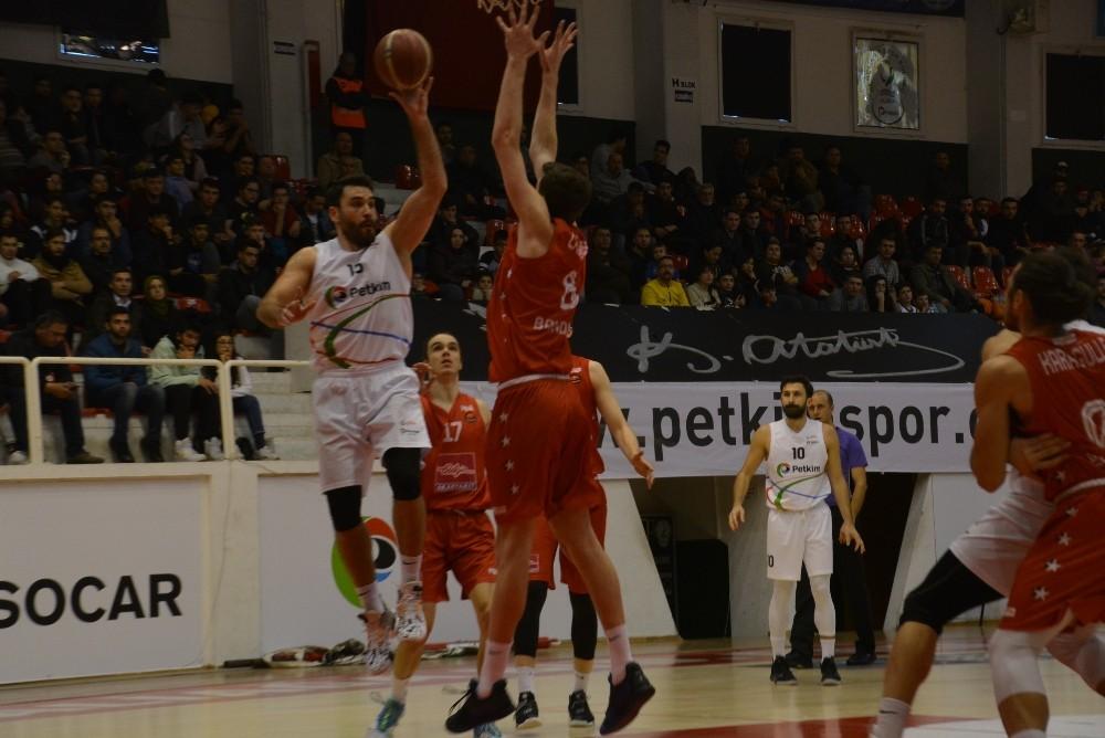 Türkiye Basketbol Ligi: Petkim Spor: 80 - Bandırma Kırmızı: 72