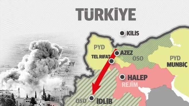 Türkiye bölgede güvenli koridor açılmasını istiyor
