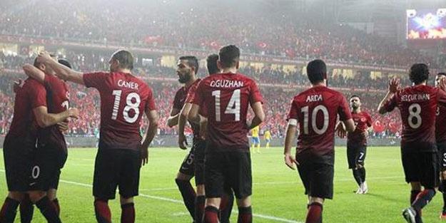 Türkiye-Bosna Hersek maçı muhtemel 11'leri