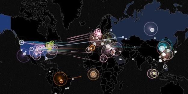 Türkiye en fazla siber saldırı yapılan üçüncü ülke