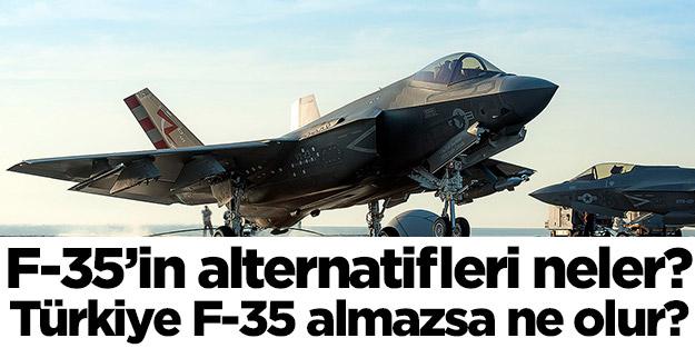 Türkiye F-35 almazsa ne olur? F-35'lerin alternatifleri neler? TF-X ve Rus savaş uçakları ile ilgili önemli açıklama