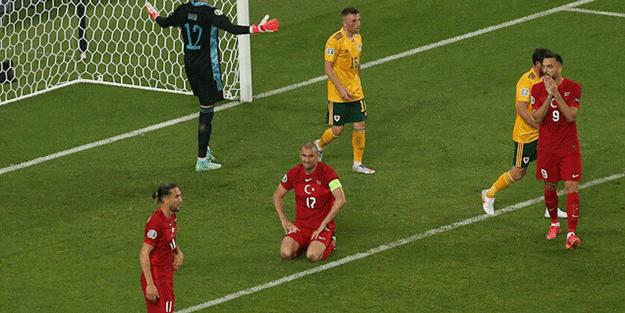 Türkiye - Galler maç sonucu