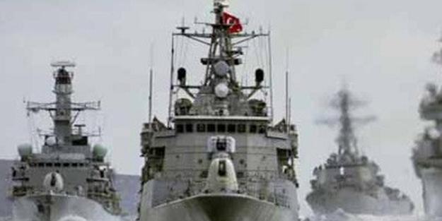 TSK Akdeniz'de harekete geçti! Savaş gemileri yola çıktı
