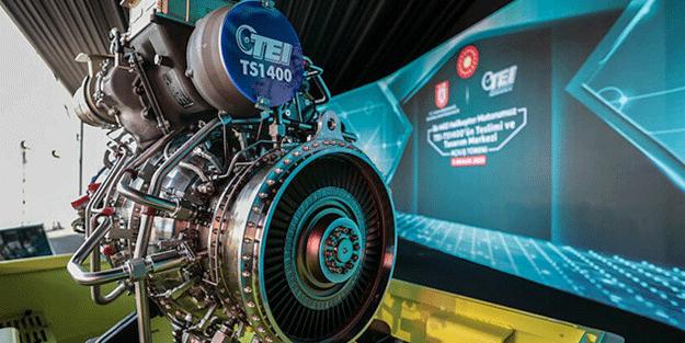 Türkiye için dönüm noktası! TUSAŞ, 6 ayda 5 adet TS1400 motoru üretecek