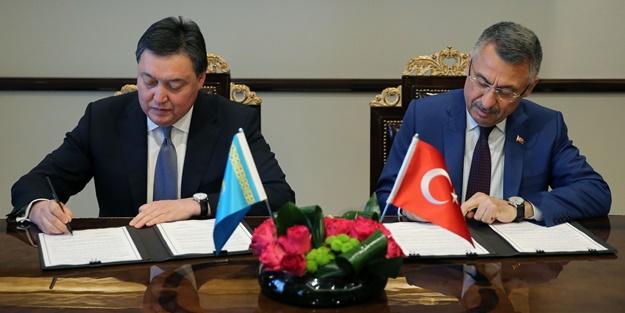 Türkiye ile Kazakistan arasında 3 anlaşma imzalandı