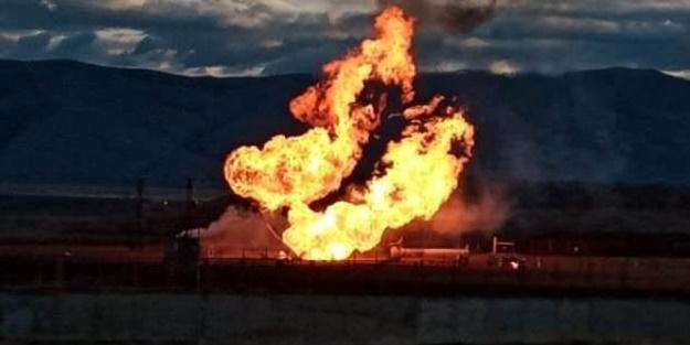 Türkiye-İran doğalgaz boru hattında patlama!