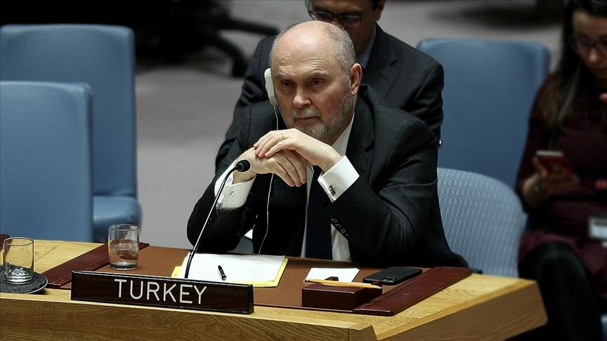 Türkiye, İsrail'in saldırıları karşısında BMGK'nin sessiz kalmasının 'kabul edilemez' olduğunu belirtti