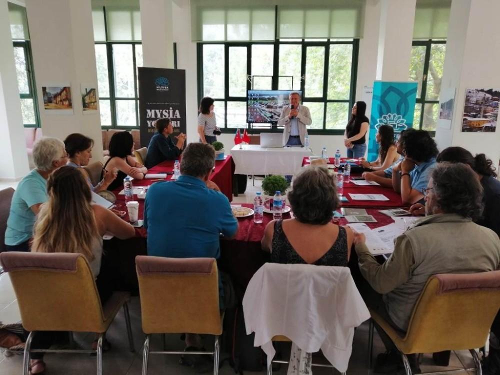 Türkiye, İtalya ve Yunanistan'ın kültür rotaları Nilüfer'de birleşiyor
