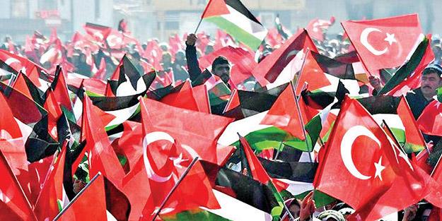 Türkiye, Kudüs için ayakta