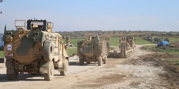 """Türkiye """"misliyle karşılık verilecek"""" demişti! Tanklar sınıra ilerledi"""