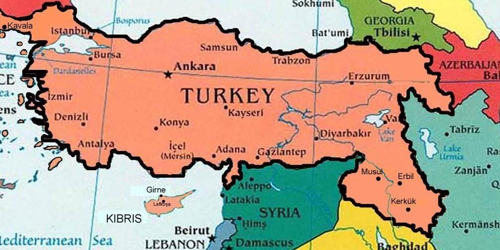 Türkiye Musul ve Kerkük'e girebilir