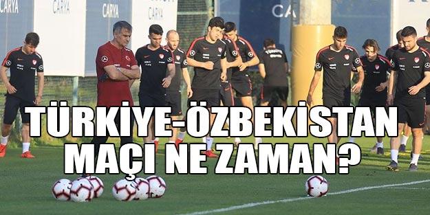 Türkiye-Özbekistan hazırlık maçı ne zaman saat kaçta hangi kanalda şifresiz mi?
