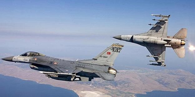 Türk jetleri, kırmızı çizgiyi aşan PYD'ye haddini bildirdi