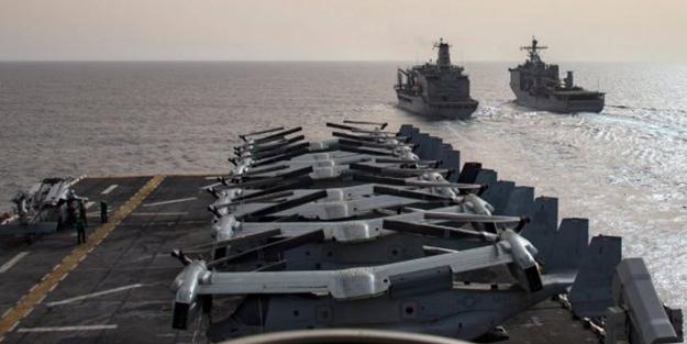 Türkiye Rumları engelleyince ABD filo gönderdi!