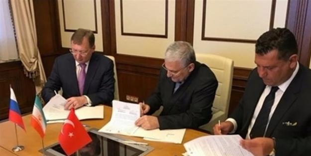 Türkiye, Rusya ve İran yatırım anlaşmasına imzayı attı