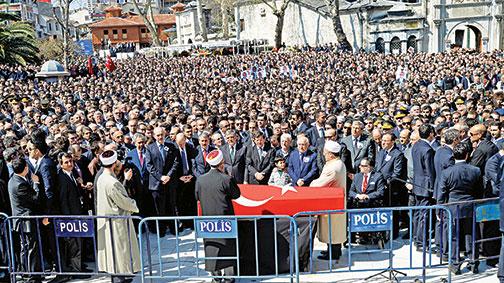 Türkiye şehidini uğurladı