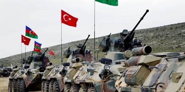 Türkiye ve Azerbaycan'dan ortak tatbikat!