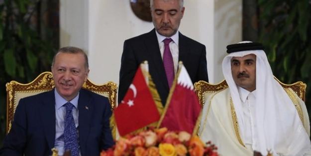 Türkiye ve Katar'dan ortak bildiri!