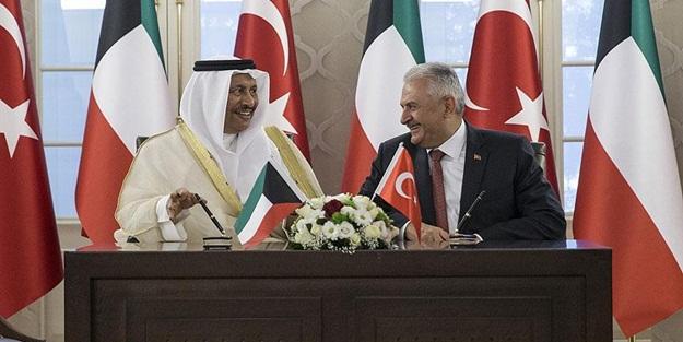 Türkiye ve Kuveyt ortak bildiri imzaladı