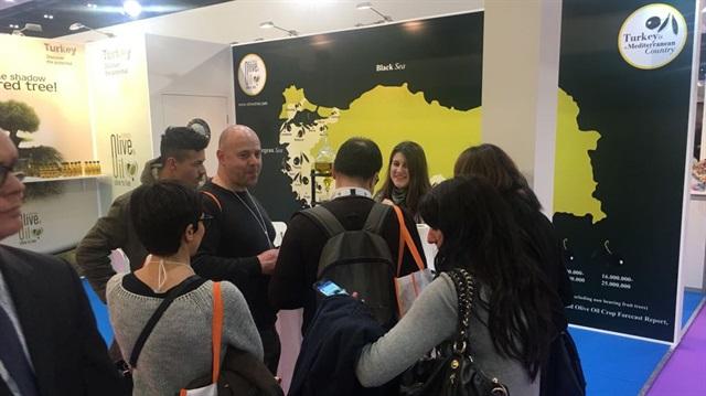 Türkiye zeytinyağı Londra'da tanıtıldı