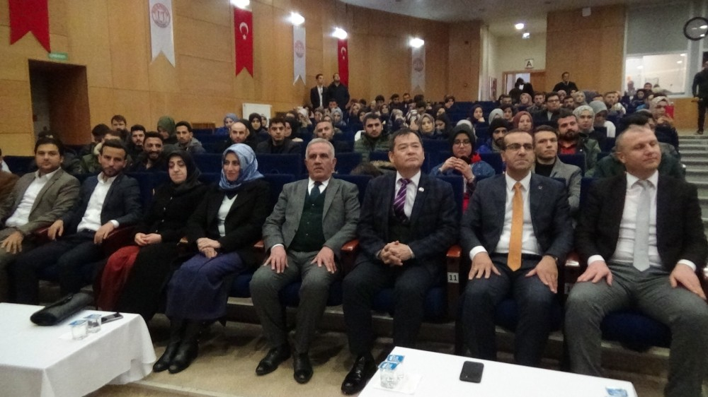 """""""Türkiye'de Deprem Gerçeği ve Muş"""" programı"""