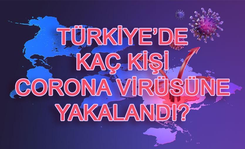 Türkiye'de kaç kişi corona virüse yakalandı?