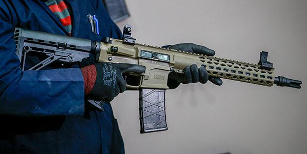 Türkiye'de üretilen silahlar Hollywood filmlerinde de kullanılıyor