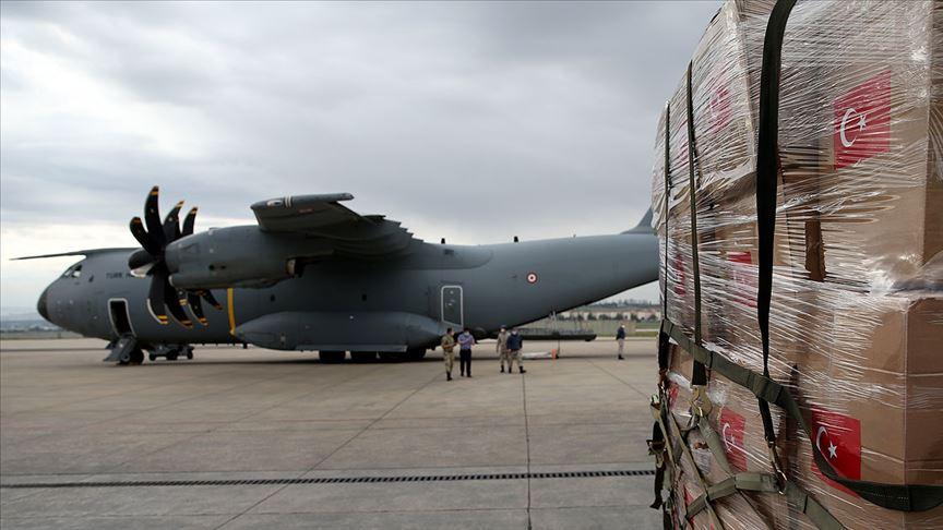 Türkiye'den Afganistan ve Gine'ye Kovid-19 sürecinde tıbbi malzeme yardımı
