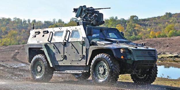Türkiye'den askeri destek! Zırhlı araçlar gönderildi