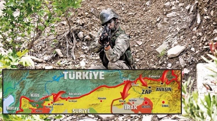 Türkiye'den çok kritik sınır ötesi operasyonları geldi