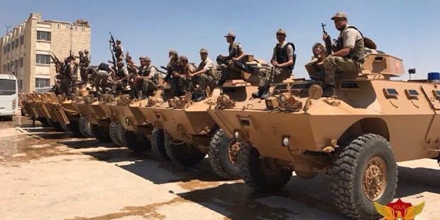 Türkiye'den Muhaliflere zırhlı araç sevkiyatı