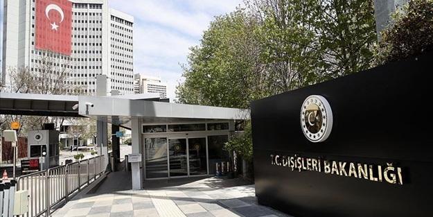 Türkiye'den sert tepki: Şiddetle kınıyoruz