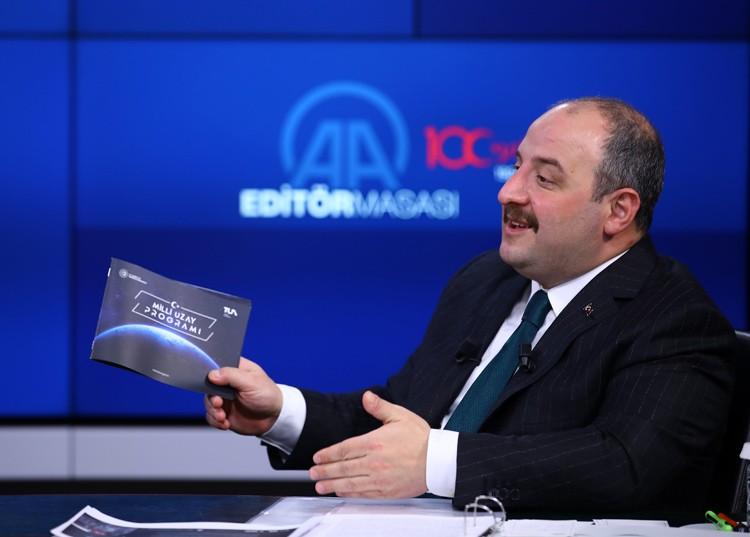Türkiye'nin 10 yıllık 'uzay yolu haritası'