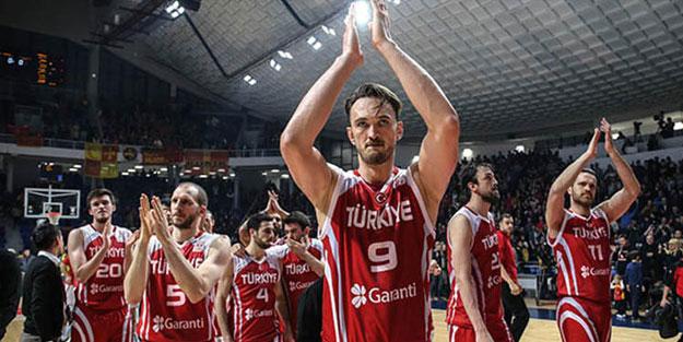 Türkiye'nin 2020 Olimpiyat Elemeleri'ndeki rakipleri belli oldu