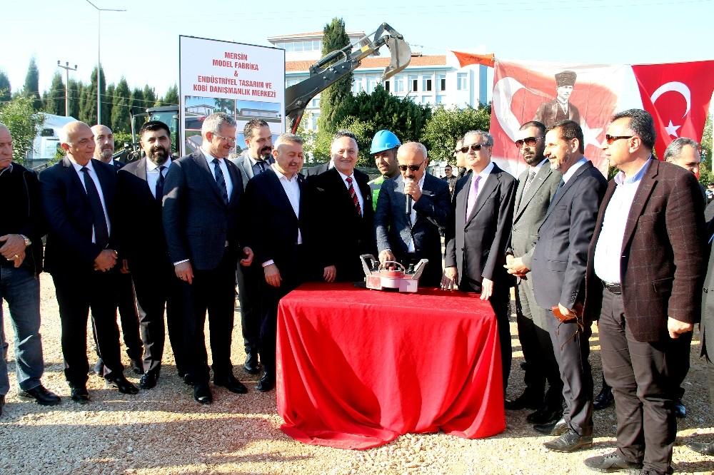 Türkiye'nin 3. model fabrikasının temeli Mersin'de atıldı