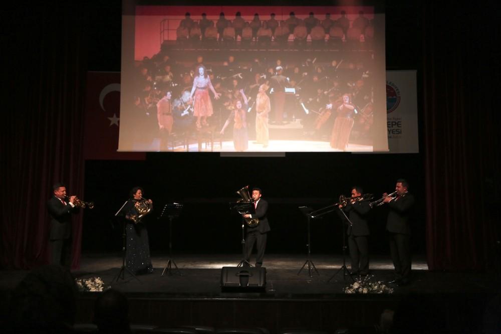 Türkiye'nin bakır nefesli beşlisi Maltepe'de sahne aldı