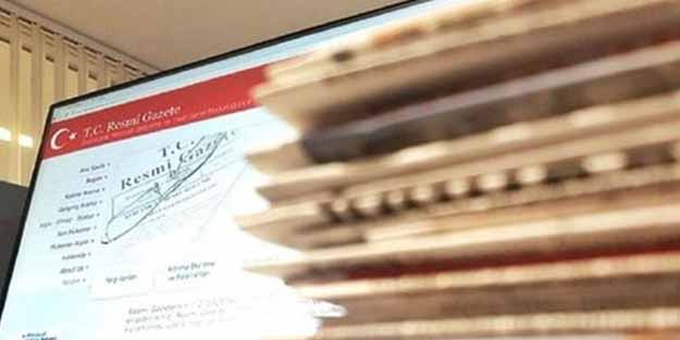 Türkiye'nin yaptığı anlaşmalar Resmi Gazete'de
