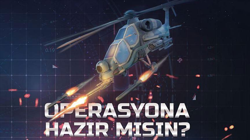 Türkiye'nin gururu Atak helikopteri, mobil oyun oldu