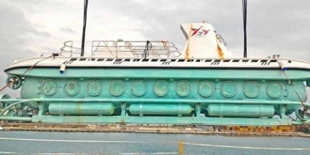 Türkiye'nin ilk turistik denizaltısı seferlere başlıyor