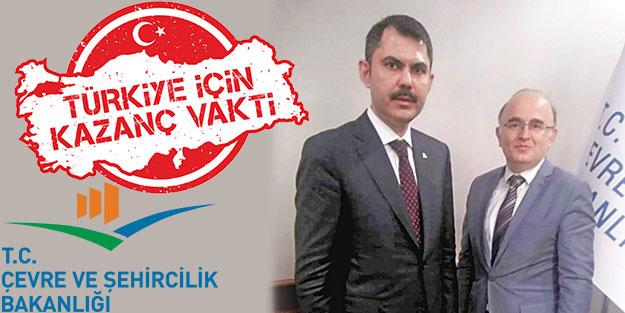 Türkiye'nin kazanması için çalışıyoruz