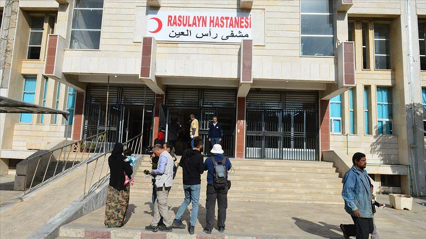 Türkiye'nin onardığı Rasulayn Hastanesi hizmete girdi