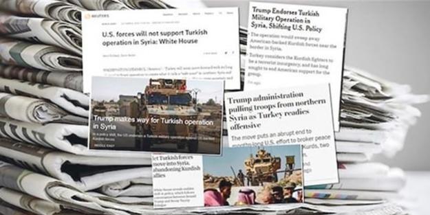 Türkiye'nin operasyonu Batı medyasını çılgına çevirdi!