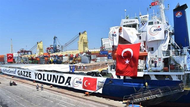 Türkiye'nin Şefkati Gazze'ye ulaştı